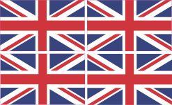 British flag bumper sticker