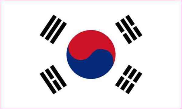 south korea bumper sticker