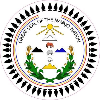 Navajo bumper sticker