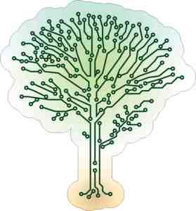 Circuit Tree Sticker