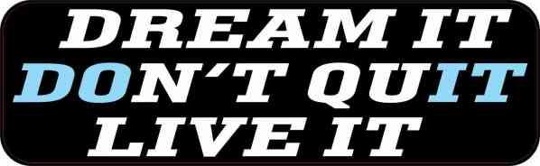 don\'t quit