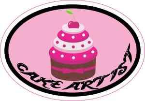 cake artist sticker