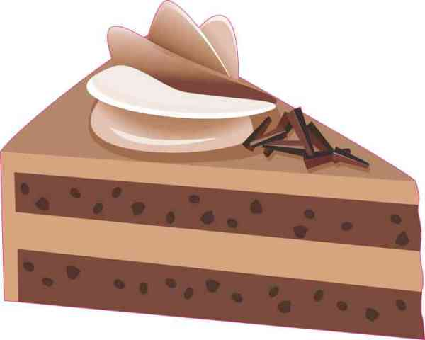 Chocolate Cake Sticker