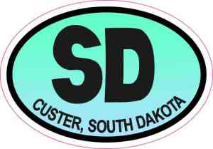 south dakota sticker