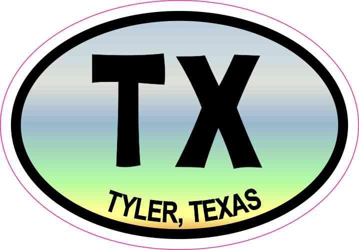 tyler texas sticker