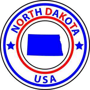 north dakota sticker