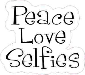 selfies sticker