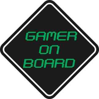 Gamer On Board Magnet
