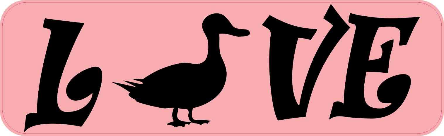 Love Duck Magnet