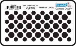 Black Camera Dots