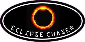 Oval Eclipse Chaser Sticker