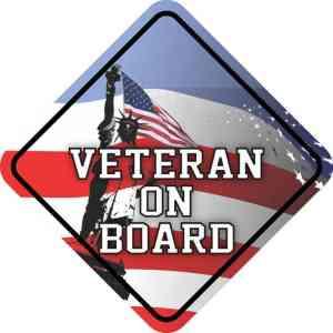 Veteran On Board Magnet