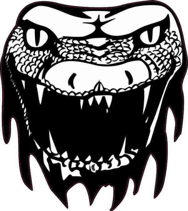 Snake Head Sticker