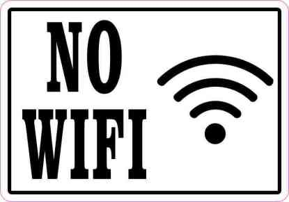 No WiFi Magnet