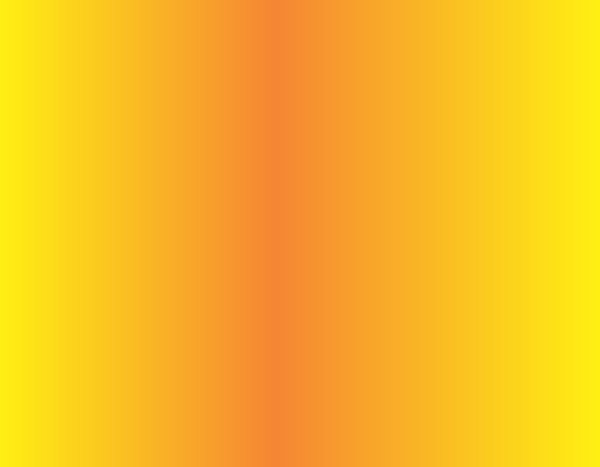 Orange And Yellow Fade Magnet