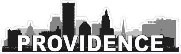 Providence Skyline Sticker