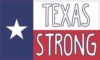 Texan Flag Texas Strong Magnet
