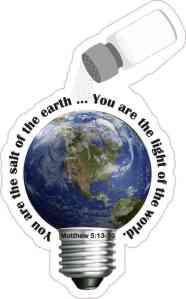 Matthew 5:13-16 Sticker