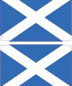 Scottish Flag Stickers