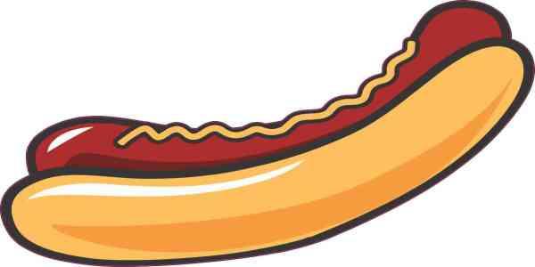 Hotdog Sticker