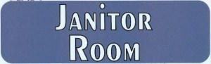 Janitor Room Magnet
