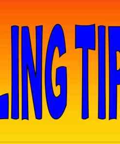 Orange Feeling Tipsy Magnet
