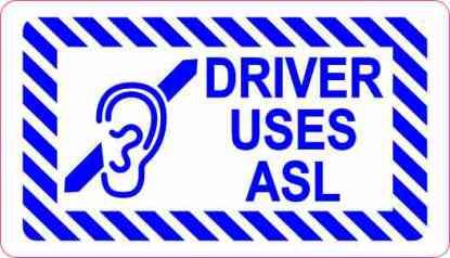 Driver Uses ASL Magnet