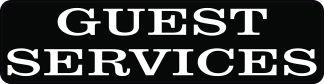 Guest Services Magnet