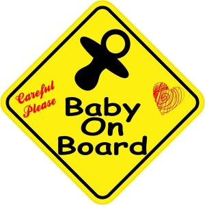 Careful Please Baby On Board Magnet