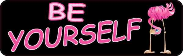 Be Yourself Magnet