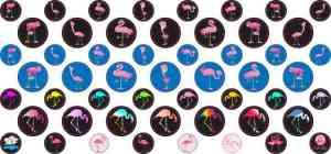 Flamingo Camera Dots
