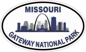 Gateway National Park Sticker