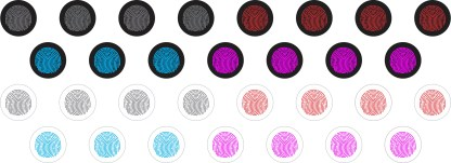 Thumbprint Home Key ButtonDots™