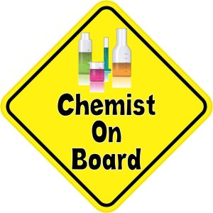 Chemist On Board Magnet