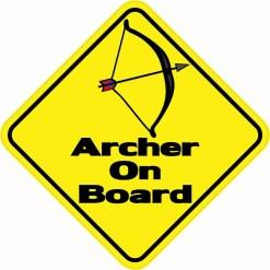 Archer On Board Magnet