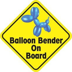 Balloon Bender On Board Magnet