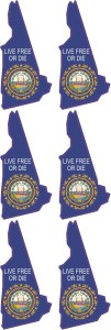 New Hampshire Stickers