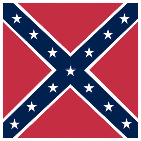 Rebel Flag Magnet