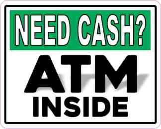 ATM Inside Sticker