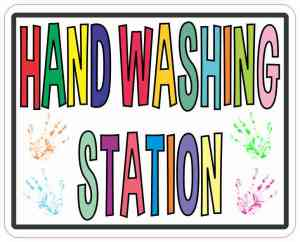 Hand Washing Station Magnet