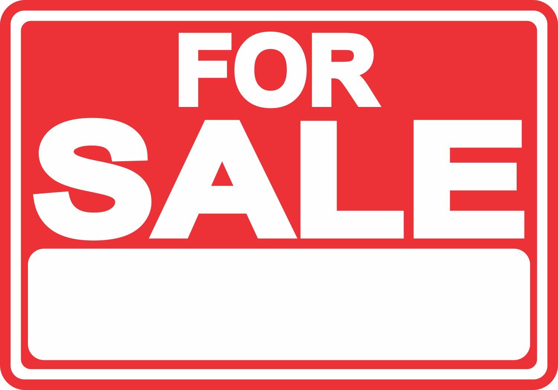 For Sale Magnet