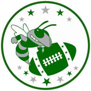 Hornet Football Sticker