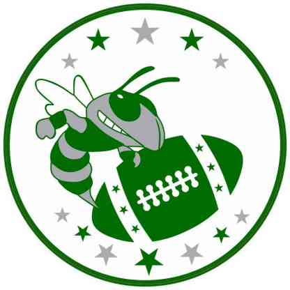 Hornet Football Sticker