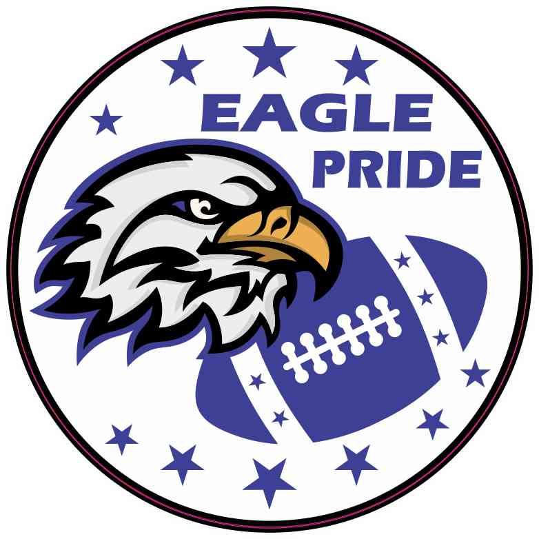 Blue Eagle Pride Sticker
