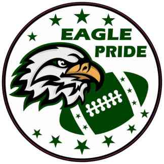 Green Eagle Pride Sticker