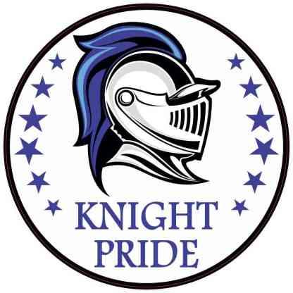 Blue Knight Pride Sticker