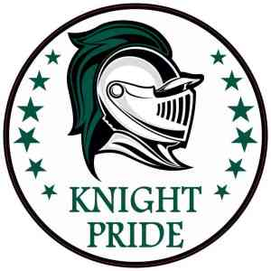 Green Knight Pride Sticker