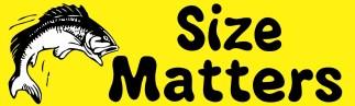 Fish Size Matters Magnet
