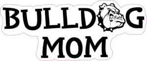 Bulldog Mom Sticker