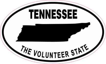 Tennessee the Volunteer State Sticker
